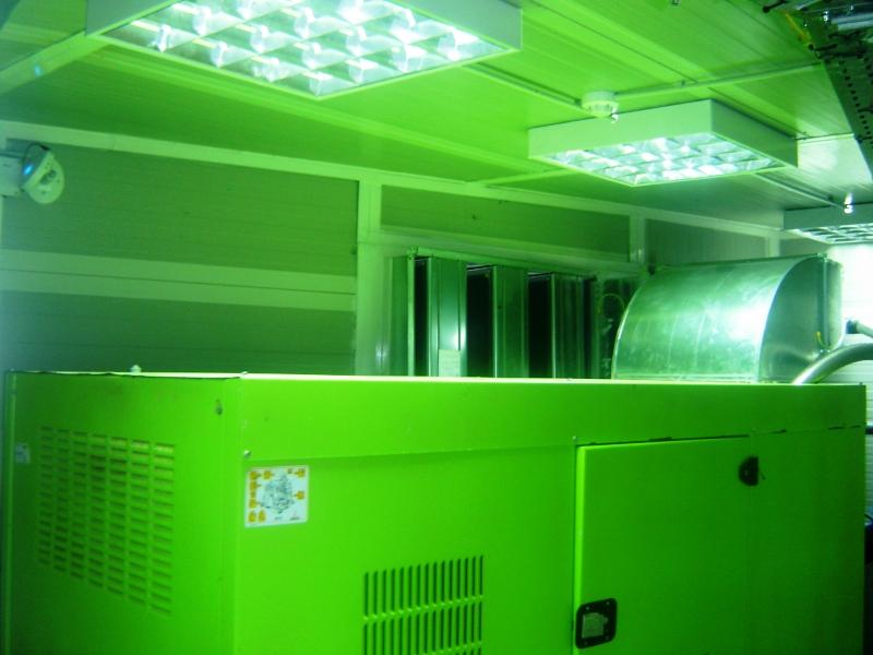 Generator hall insulation