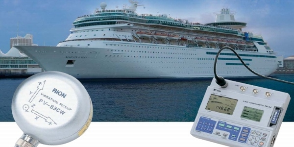 Ship vibration measurement