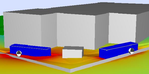 3D noise model