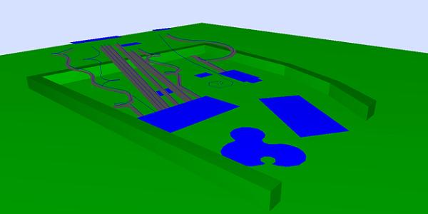 Waterpark 3D noise model