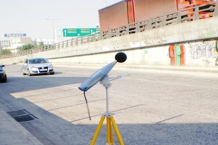 Road traffic noise measurements