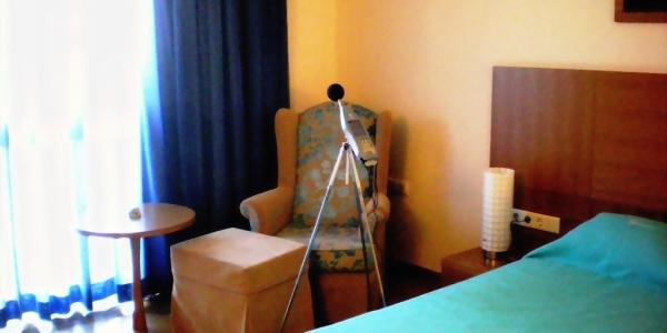 Hotel sound insulation measurements