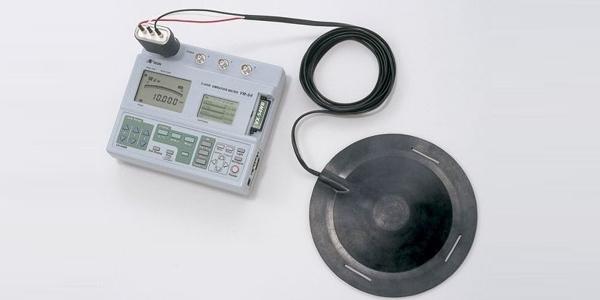 Human vibration measuring equipment