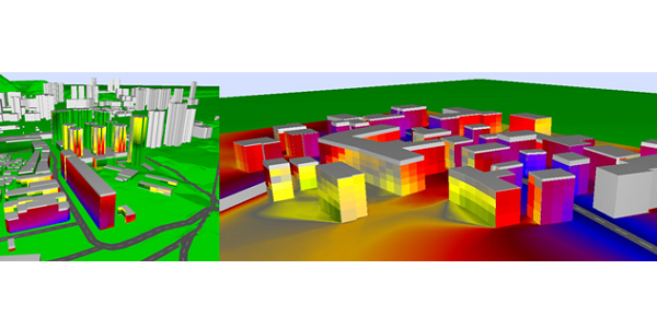 Strategic noise mapping with CadnaA