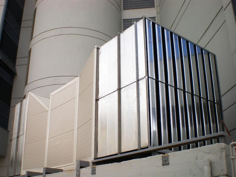 Generator fan insulation with custom noise attenuators