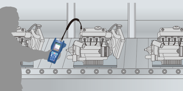 Quality control using vibration measurements
