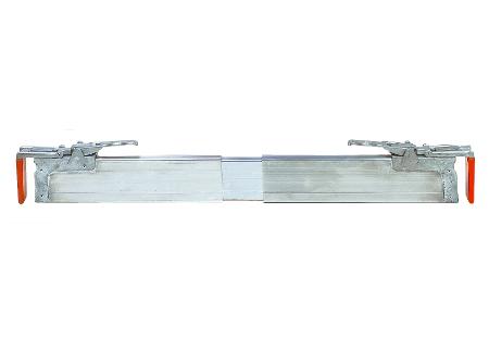 Cargo bars with extractable aluminium plates