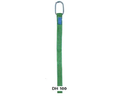 Ιμάντες με κρίκους στα άκρα DH 100, διπλής και μονής στρώσης